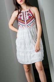 THML Clothing Beaded Embroidered Dress - Product Mini Image