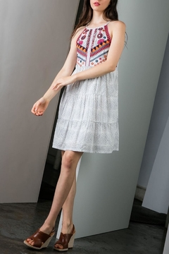 Shoptiques Product: Beaded Embroidered Dress