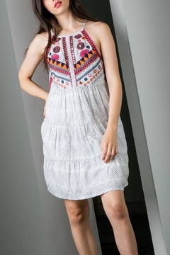 f780855a0fcd5 ... THML Clothing Beaded Embroidered Halter - Product List Image