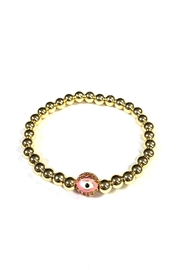 Lovely Lisa Beaded Evil-Eye Bracelet - Product Mini Image
