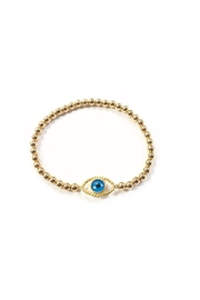Bozkurt Beaded Evil-Eye Bracelet - Product Mini Image