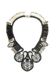 Zenzii Beaded Fringe Necklace - Product Mini Image