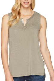 Tribal Beaded Front Tank - Product Mini Image