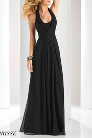 CLARISSE Beaded Halter Gown - Product Mini Image