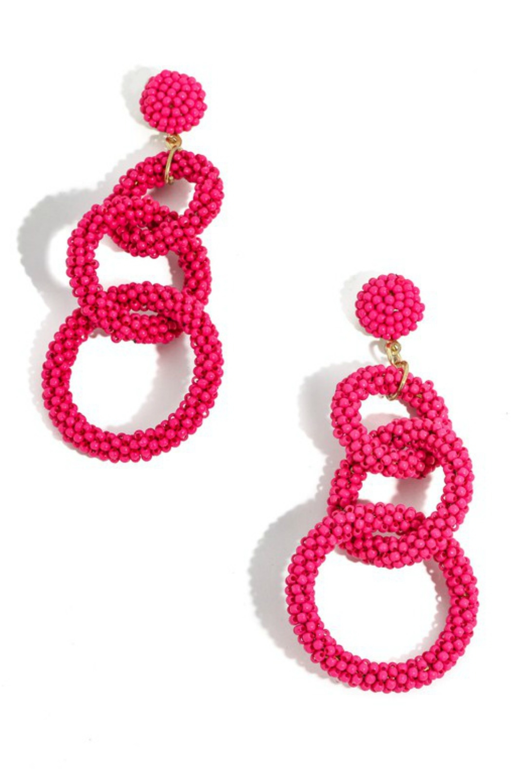 Anarchy Street Beaded Link Earrings - Main Image