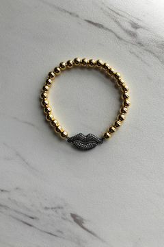 Love, Lisa Beaded Lips Bracelet - Product List Image