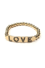 Lets Accessorize Beaded Love Bracelet - Product Mini Image