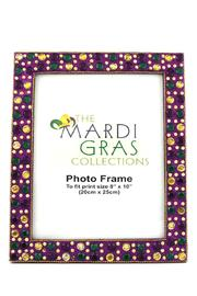Beaded Mardi-Gras Frame - Product Mini Image