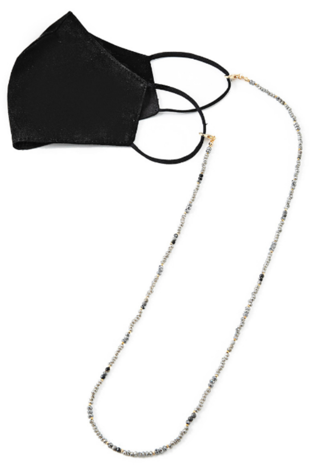 FAME ACCESORIES Beaded Mask Chain - Main Image