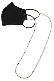 FAME ACCESORIES Beaded Mask Chain - Front cropped