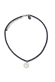 Lets Accessorize Beaded Medallion Necklace - Product Mini Image