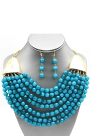 Embellish Beaded Multi-Strand Necklace - Product Mini Image