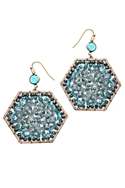 NAKAMOL CHICAGO Beaded Octagon Earrings - Product Mini Image