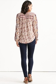 Lucky Brand Beaded Peasant Top - Side cropped