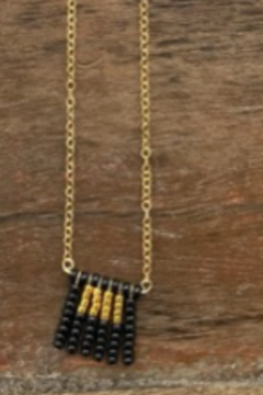 sidai Beaded Pendant Necklace - Product List Image