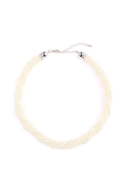 Riah Fashion Beaded-Rope Twisted-Choker Necklace - Product Mini Image
