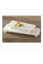 MudPie Beaded Serving Board Set - Product Mini Image