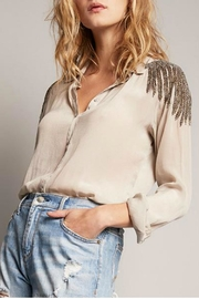 AS by DF Beaded Shoulder Blouse - Product Mini Image