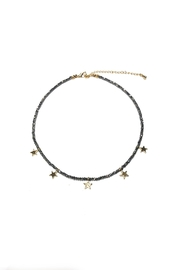 Lets Accessorize Beaded Star Choker - Product Mini Image