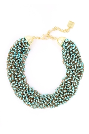Wild Lilies Jewelry  Beaded Statement Necklace - Product Mini Image
