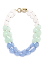 Wild Lilies Jewelry  Beaded Statement Necklace - Front cropped