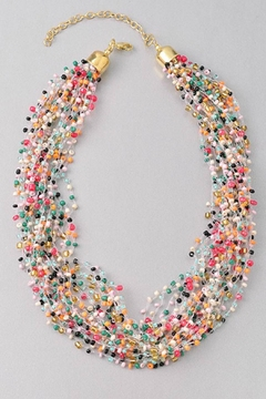 Miss Darlin Beaded Strands Necklace - Product List Image