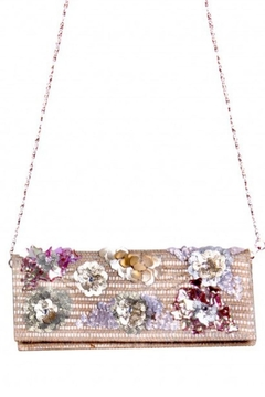America & Beyond Beaded Straw Clutch - Alternate List Image