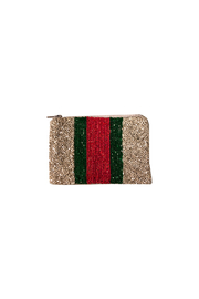 Tiana Beaded Stripe Coin Purse - Product Mini Image