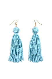 Wild Lilies Jewelry  Beaded Tassel Earrings - Product Mini Image