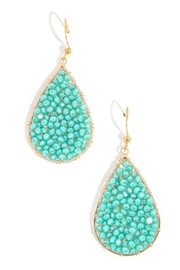 Anarchy Street Beaded Teardrop Earrings - Product Mini Image