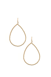 Andrea Bijoux Beaded Teardrop Earrings - Product Mini Image