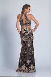 Dave and Johnny Beaded Two Piece - Front full body