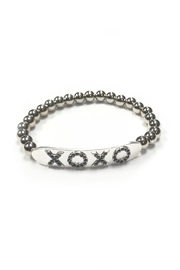 Lets Accessorize Beaded Xoxo Bracelet - Product Mini Image