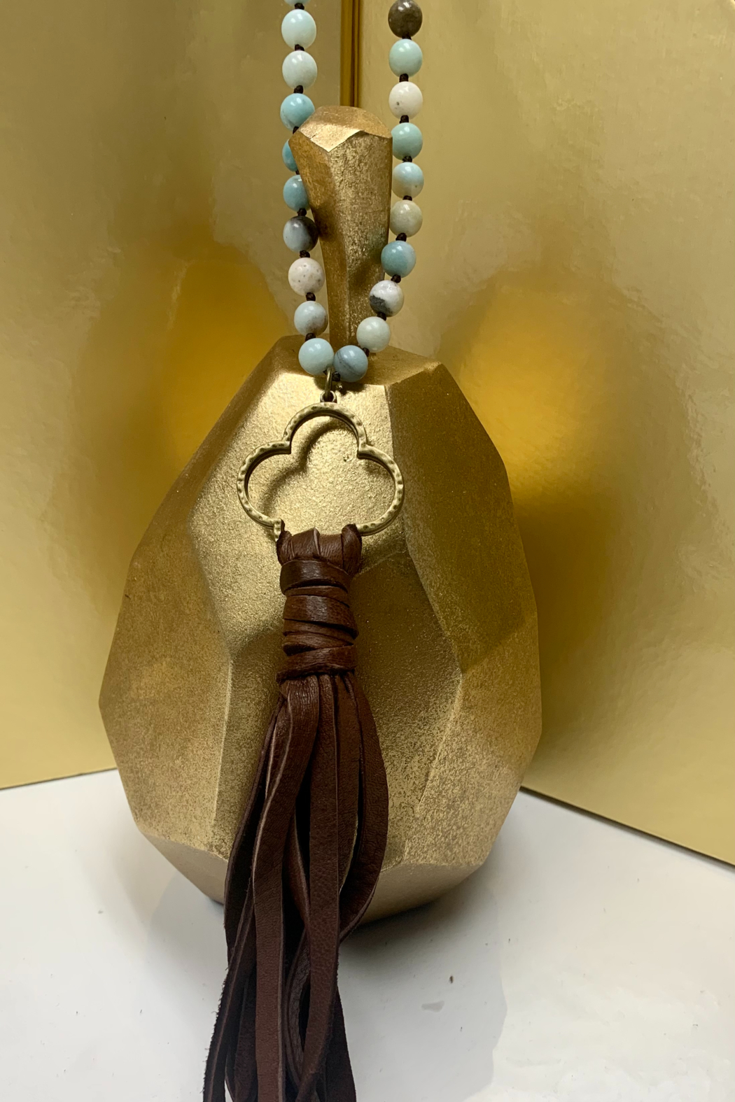 CAROL SU Beads and Long Tassels - Side Cropped Image