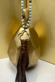 CAROL SU Beads and Long Tassels - Side cropped