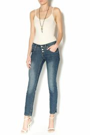 Sublevel Dark Slim Fit Jeans - Front full body
