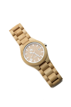 Shoptiques Product: Bambo Wooden Watch