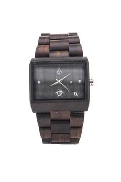 Shoptiques Product: Black Sandalwood Watch