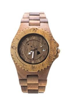 Shoptiques Product: Hawaiian Koa Watch