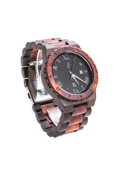 Bean & Vanilla Red Black Sandalwood Watch - Alternate List Image