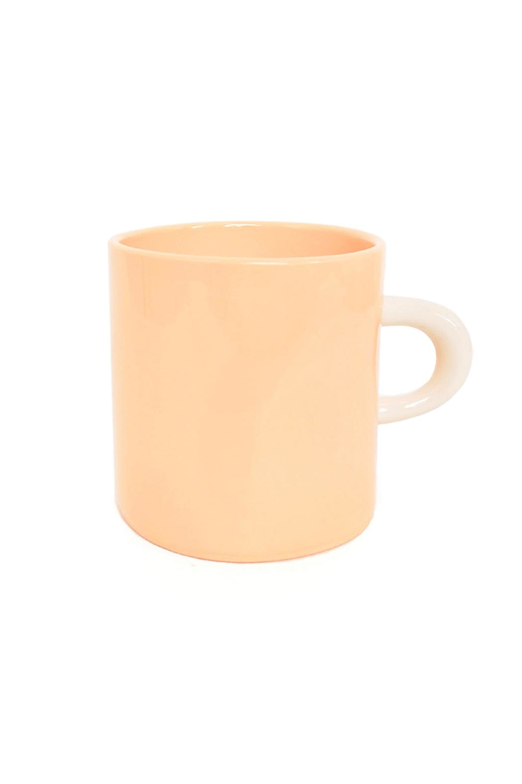 Bean and Bailey Color Mug - Front Cropped Image