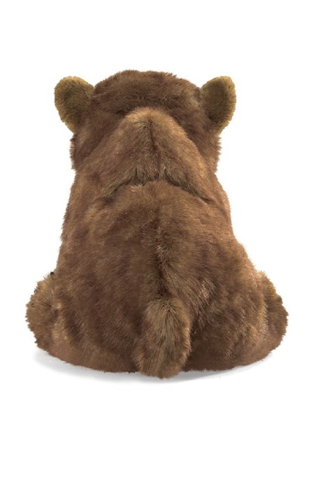Folkmanis Bear Cub Hand Puppet - Front Full Image