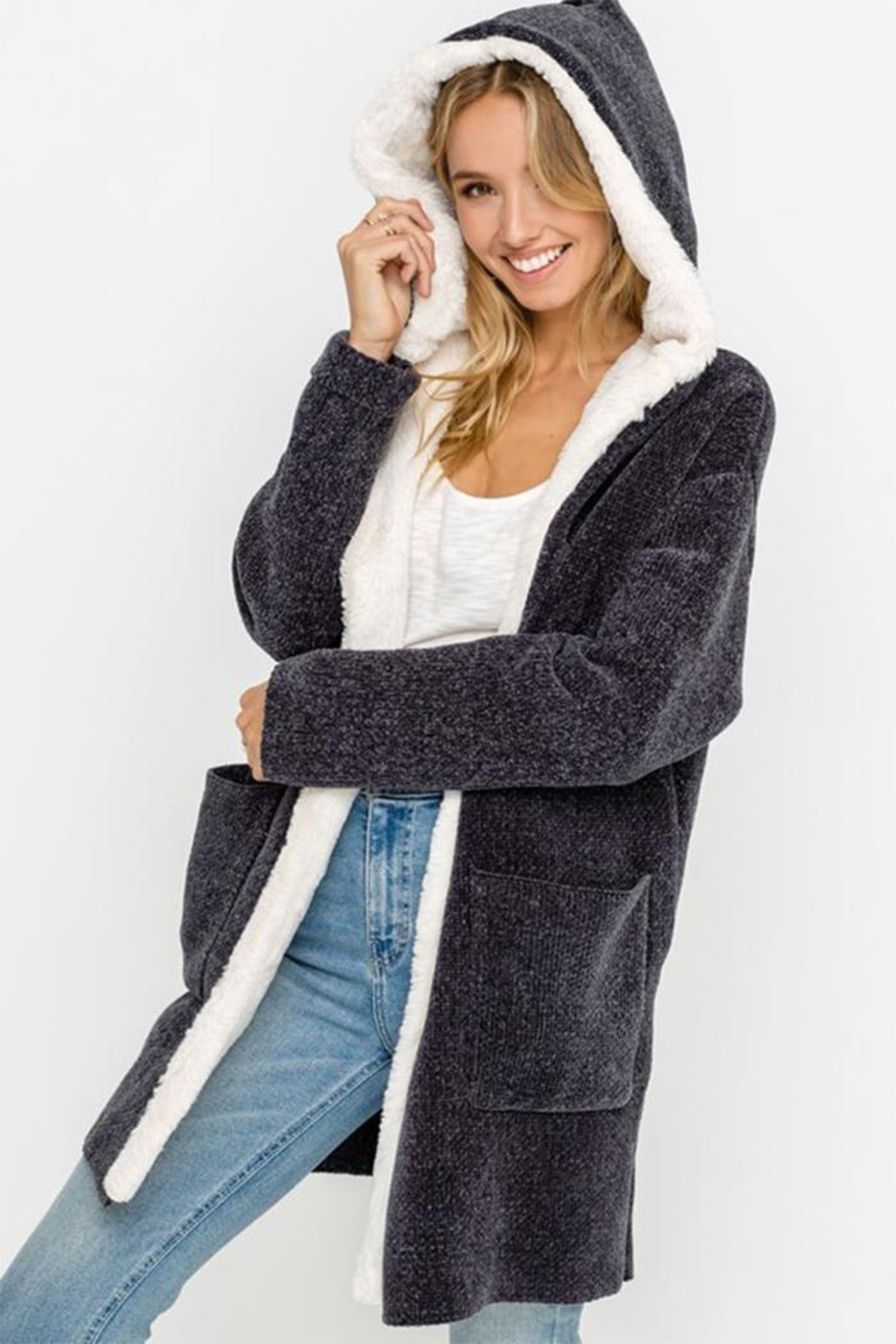 Lush Bear Fur Jacket - Main Image