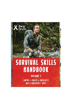 Shoptiques Product: Bear Grylls: Survival Skills Handbook Volume 1