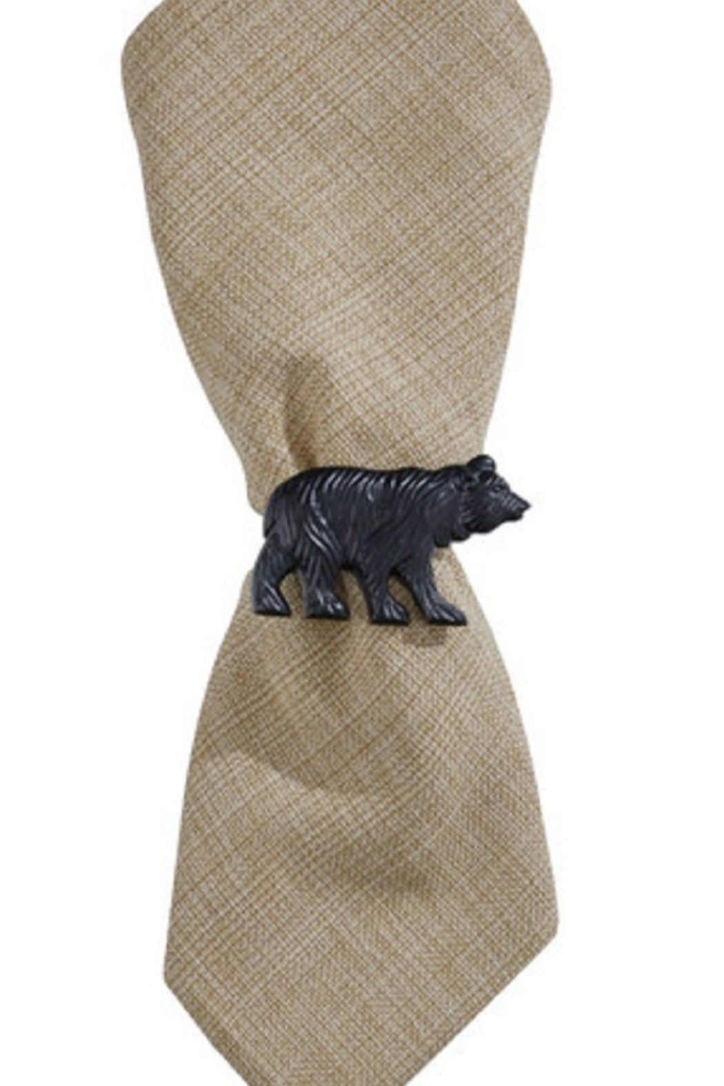 Park Designs Bear Napkin Rings - Front Cropped Image