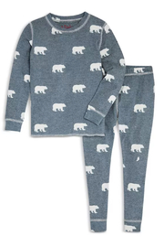 PJ Salvage  Bear PJ Set - Front cropped