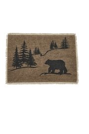 Park Designs Bear Scene Placemat - Product Mini Image