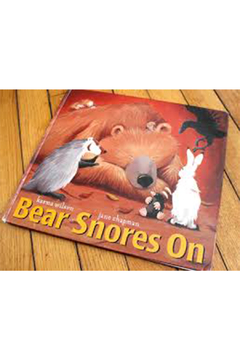 Simon & Schuster Bear Snores On - Alternate List Image