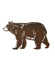 Giftcraft Inc.  Bear Wall Decor - Product Mini Image