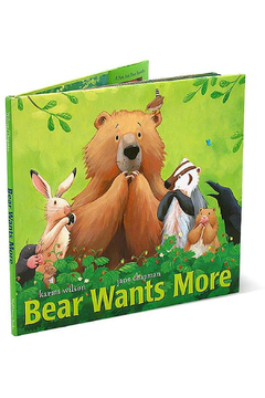 Simon & Schuster Bear Wants More - Alternate List Image
